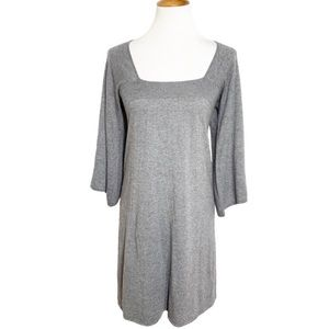 Joie Cashmere Blend Gray Sweater Dress